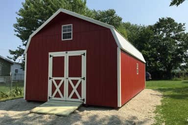 Barn looking shed
