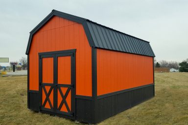 Outdoor Shed in Iowa