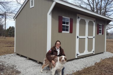 wood shed in mo