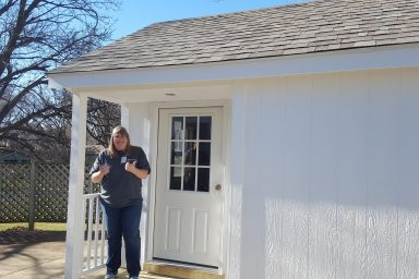 utility shed in kansas city