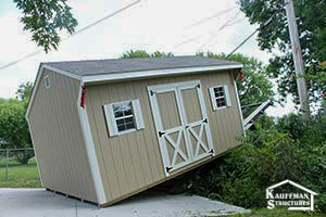 sheds delivered to you