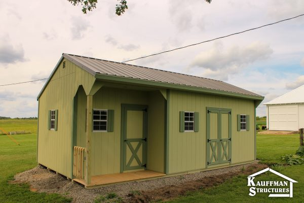 beautiful shed delivered to you
