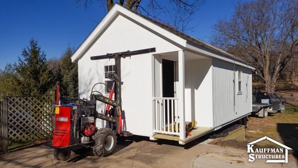 kauffman structures will deliver a shed to you