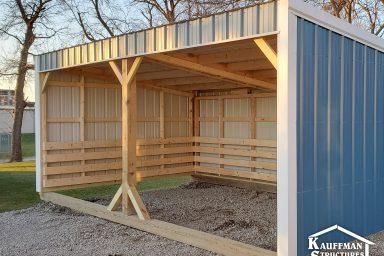blue loafing sheds
