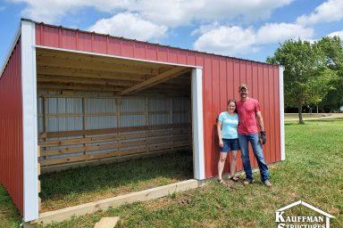 red loafing sheds