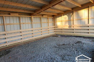 interior loafing sheds