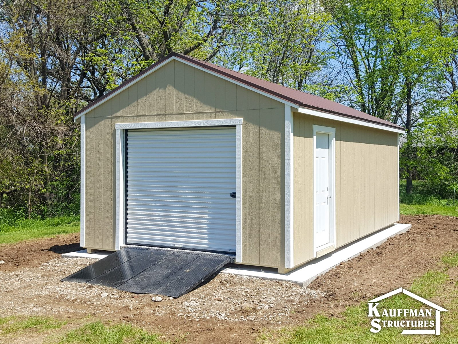 family owned portable garage builder
