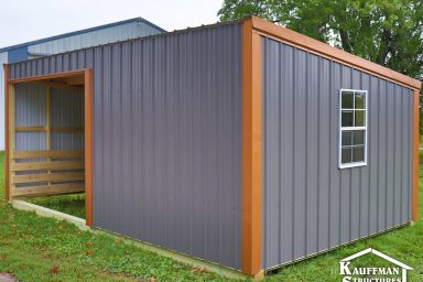 iowa city loafing shed for animals