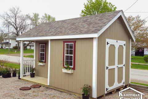 garden storage shed in pella