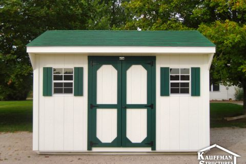 carriage storage shed in pella