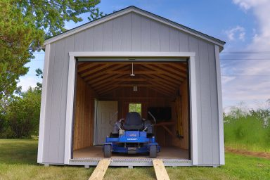 portable garage for your mower