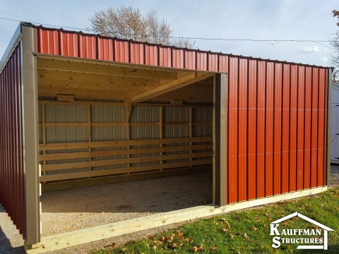 loafing shed for sale in oscaloosa