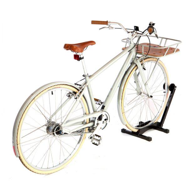 bicycle shed compact floor bike rack