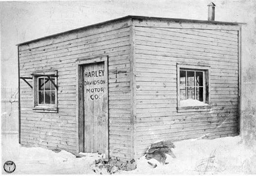 harley davidson shed 1