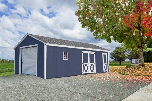 landscaped portable car garage for sale