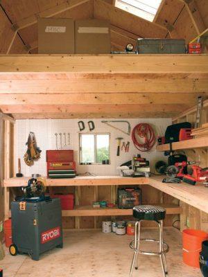 toolshed workshop shed