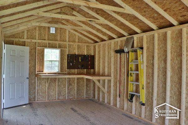 workbench for workshop shed