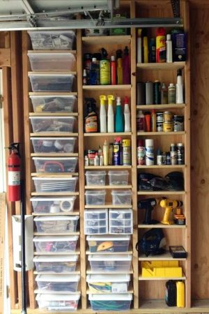 small shed tool organizer