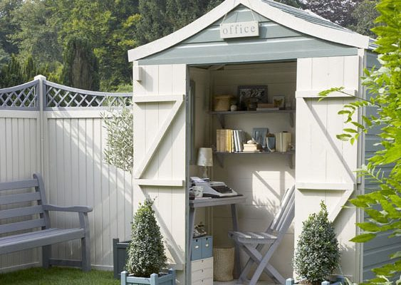 home office small storage shed
