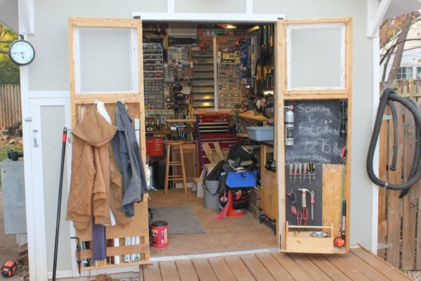 small work shed for your man 600x400