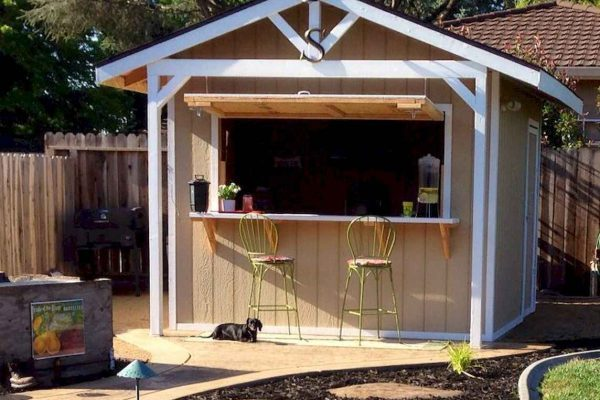 small shed for hosting parties