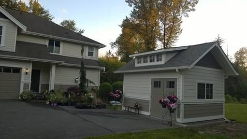 will a shed increase property value if its in front of house