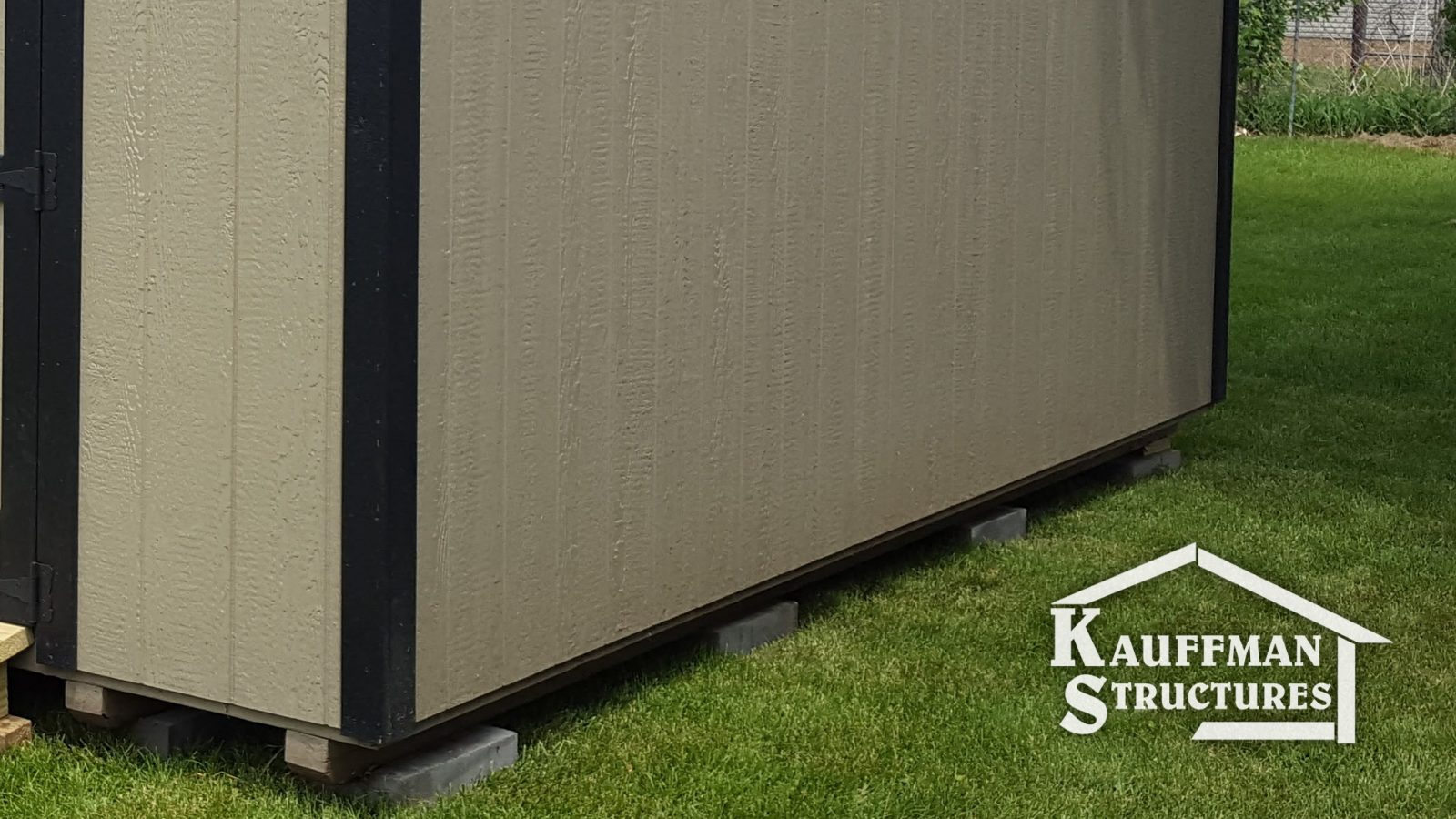 best shed siding from kauffman