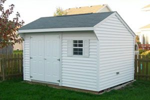 Custom backyard shed
